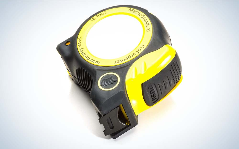 The FastCap Pro Carpenter Standard Metric Tape is the best carpenter tape measure.