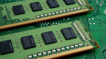Two RAM memory modules