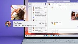 Microsoft Teams on laptop screen