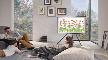 Samsung The Frame TV in a living room